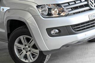 2016 Volkswagen Amarok 2H MY16 TDI420 4Motion Perm Trendline Silver 8 Speed Automatic Utility.