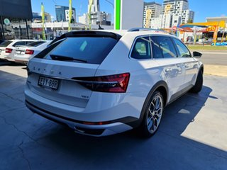 2020 Skoda Superb NP MY20.5 200TSI DSG Scout Candy White 7 Speed Sports Automatic Dual Clutch Wagon