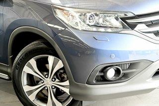 2013 Honda CR-V RM MY14 VTi-L 4WD Blue 5 Speed Sports Automatic Wagon.