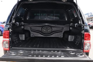 2015 Toyota Hilux GUN126R SR5 Double Cab Black 6 Speed Manual Utility