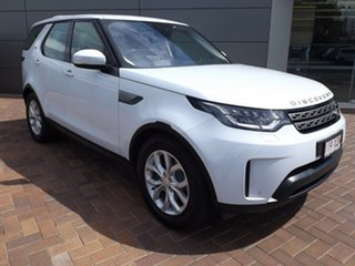 2017 Land Rover Discovery Series 5 L462 MY17 SD4 SE Yulong White 8 Speed Sports Automatic Wagon.