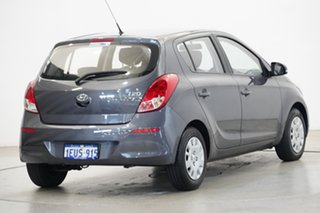 2015 Hyundai i20 PB MY16 Active Grey 4 Speed Automatic Hatchback