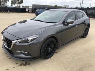 2018 Mazda 3 BN5438 SP25 SKYACTIV-Drive Astina Machine Grey 6 Speed Sports Automatic Hatchback
