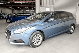 2015 Hyundai i40 VF4 Series II Active Tourer D-CT Blue 7 Speed Sports Automatic Dual Clutch Wagon