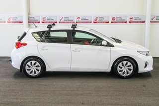 2013 Toyota Corolla ZRE182R Ascent Glacier White 6 Speed Manual Hatchback