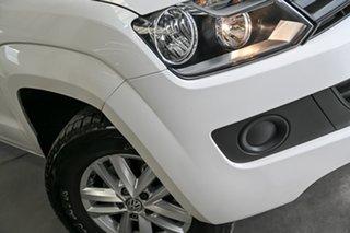2015 Volkswagen Amarok 2H MY15 TDI400 4MOT Core White 6 Speed Manual Utility.