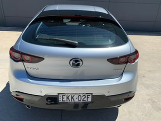 2020 Mazda 3 BP2H7A G20 SKYACTIV-Drive Pure Sonic Silver 6 Speed Sports Automatic Hatchback