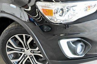 2015 Mitsubishi ASX XB MY15 XLS 2WD Black 6 Speed Constant Variable Wagon.