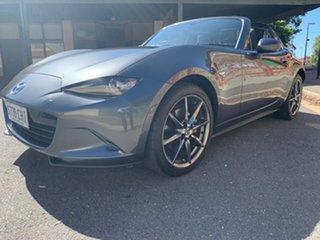 2017 Mazda MX-5 ND GT RF SKYACTIV-MT Machine Grey 6 Speed Manual Targa
