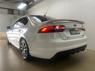 2015 Ford Falcon FG X XR6T White 6 Speed Auto Seq Sportshift Sedan