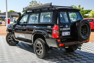 2009 Nissan Patrol GU 6 MY08 ST Black 4 Speed Automatic Wagon.