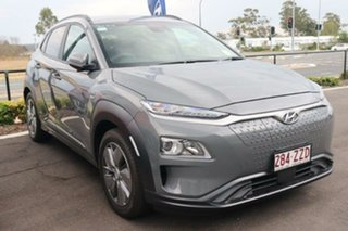 2019 Hyundai Kona OSEV.2 MY20 electric Elite Galactic Grey 1 Speed Reduction Gear Wagon.