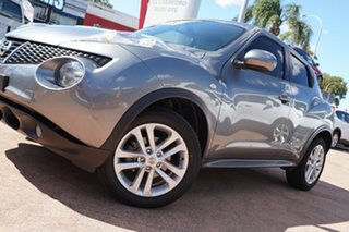 2014 Nissan Juke F15 ST (FWD) Grey Continuous Variable Wagon.