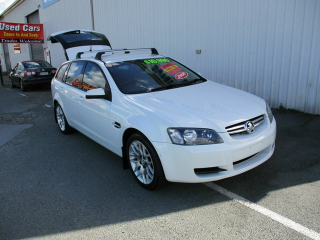 Used Holden Commodore VE 60th Anniversary Woodridge, 2008 Holden Commodore VE 60th Anniversary White 4 Speed Automatic Wagon