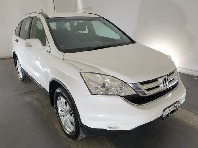 Used Honda CR-V RE MY2010 Limited Edition 4WD Maryville, 2010 Honda CR-V RE MY2010 Limited Edition 4WD White 6 Speed Manual Wagon