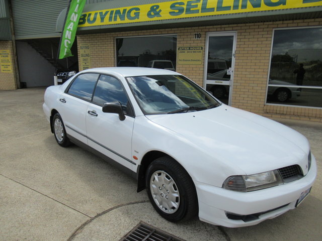 Used Mitsubishi Magna TJ V6 Si Executive Mandurah, 2001 Mitsubishi Magna TJ V6 Si Executive White 4 Speed Automatic Sedan