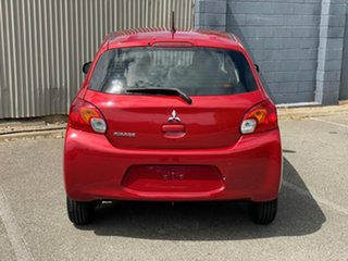 2015 Mitsubishi Mirage LA MY15 ES Red 1 Speed Constant Variable Hatchback