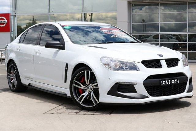 Used Holden Special Vehicles ClubSport Gen-F2 MY16 R8 LSA Liverpool, 2016 Holden Special Vehicles ClubSport Gen-F2 MY16 R8 LSA White 6 Speed Sports Automatic Sedan