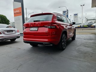 2020 Skoda Kodiaq NS MY20.5 RS DSG Velvet Red 7 Speed Sports Automatic Dual Clutch Wagon