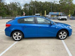 2014 Holden Cruze EQUIPE JH SERIE Blue 5 Speed Manual Hatchback.