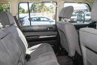 2009 Nissan Patrol GU 6 MY08 ST Black 4 Speed Automatic Wagon