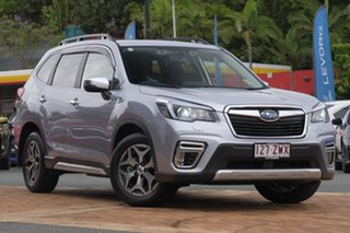 2020 Subaru Forester S5 MY20 Hybrid L CVT AWD Ice Silver 7 Speed Constant Variable Wagon Hybrid.
