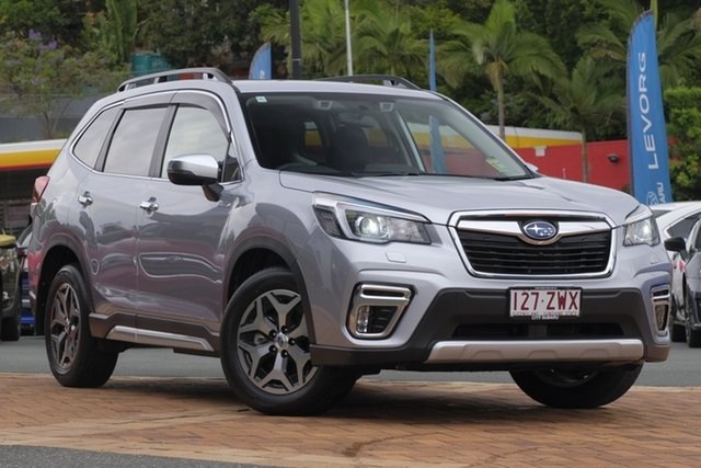 Demo Subaru Forester S5 MY20 Hybrid L CVT AWD Newstead, 2020 Subaru Forester S5 MY20 Hybrid L CVT AWD Ice Silver 7 Speed Constant Variable Wagon Hybrid