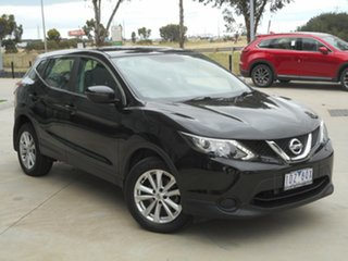 2015 Nissan Qashqai J11 ST Black 1 Speed Constant Variable Wagon