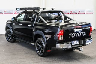 2018 Toyota Hilux GUN126R MY17 SR5 (4x4) Eclipse Black 6 Speed Automatic Dual Cab Utility