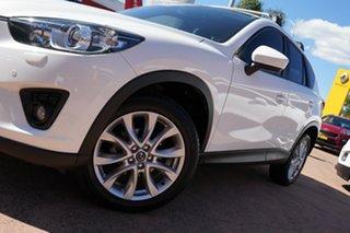 2014 Mazda CX-5 MY13 Upgrade Grand Tourer (4x4) White 6 Speed Automatic Wagon.