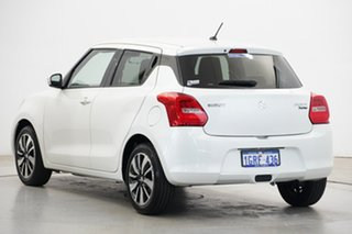 2018 Suzuki Swift AZ GLX Turbo White 6 Speed Sports Automatic Hatchback
