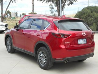 2017 Mazda CX-5 KF2W7A Maxx SKYACTIV-Drive FWD Sport Red 6 Speed Sports Automatic Wagon