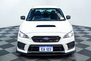 2017 Subaru WRX V1 MY18 STI AWD White 6 Speed Manual Sedan.