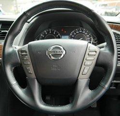 2015 Nissan Patrol Y62 MY15 TI-L White 7 Speed Sports Automatic Wagon