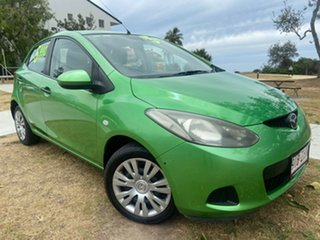 2009 Mazda 2 DE10Y1 Neo Green 5 Speed Manual Hatchback.