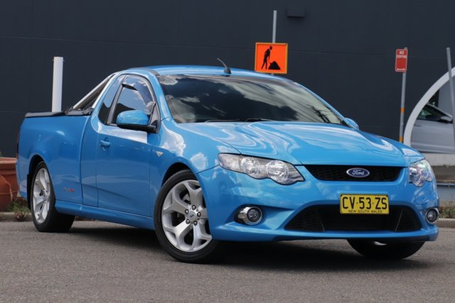 Used Ford Falcon FG XR8 Ute Super Cab Parramatta, 2009 Ford Falcon FG XR8 Ute Super Cab Blue 6 Speed Sports Automatic Utility