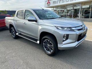 2020 Mitsubishi Triton MR MY21 GLX-R Double Cab Sterling Silver 6 Speed Sports Automatic Utility.