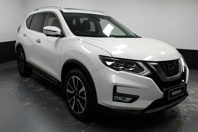 Used Nissan X-Trail T32 Series II Ti X-tronic 4WD Hamilton, 2019 Nissan X-Trail T32 Series II Ti X-tronic 4WD Silver 7 Speed Constant Variable Wagon