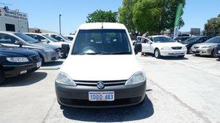 2009 Holden Combo XC MY09.5 White 5 Speed Manual Van.