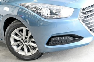 2015 Hyundai i40 VF4 Series II Active Tourer D-CT Blue 7 Speed Sports Automatic Dual Clutch Wagon.
