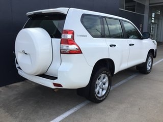 2016 Toyota Landcruiser Prado GDJ150R GX White 6 Speed Manual Wagon