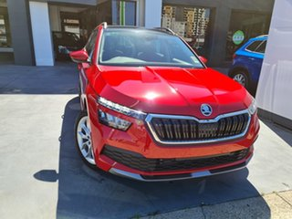 2020 Skoda Kamiq NW MY20.5 85TSI DSG FWD Velvet Red 7 Speed Sports Automatic Dual Clutch Wagon.