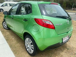 2009 Mazda 2 DE10Y1 Neo Green 5 Speed Manual Hatchback