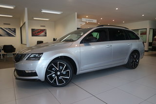2020 Skoda Octavia NE MY20.5 Sport DSG 110TSI Brilliant Silver 7 Speed Sports Automatic Dual Clutch.