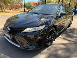 2019 Toyota Camry ASV70R SX Black 6 Speed Sports Automatic Sedan.