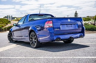 2016 Holden Ute VF II MY16 SS Ute Black Blue 6 Speed Sports Automatic Utility.