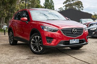 2015 Mazda CX-5 KE1032 Grand Touring SKYACTIV-Drive AWD Red 6 Speed Sports Automatic Wagon.