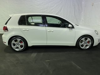 2011 Volkswagen Golf VI MY11 GTI DSG White 6 Speed Sports Automatic Dual Clutch Hatchback