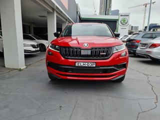 2020 Skoda Kodiaq NS MY20.5 RS DSG Velvet Red 7 Speed Sports Automatic Dual Clutch Wagon.