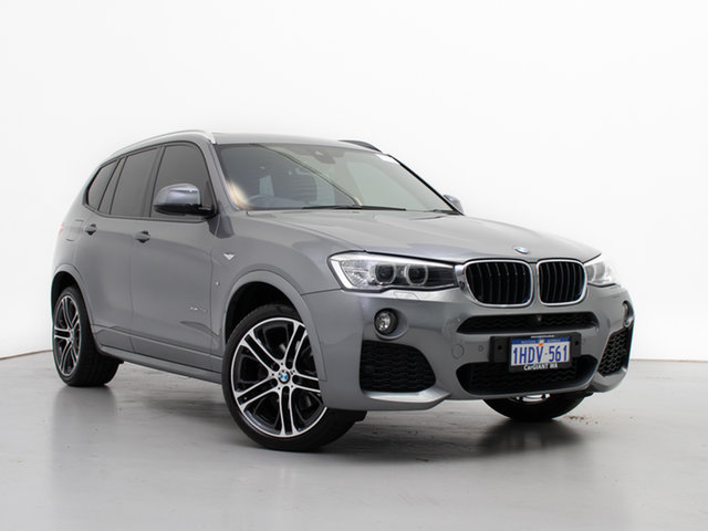 Used BMW X3 F25 MY17 Update xDrive20d, 2017 BMW X3 F25 MY17 Update xDrive20d Grey 8 Speed Automatic Wagon